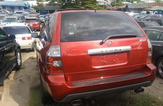 Acura Mdx 2005 Red