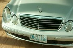 Clean Mercedes-Benz C320 2002 Silver