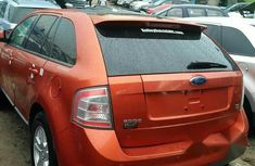 Ford Edge 2009 Orange