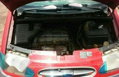Ford Galaxy 2000 Red