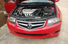 Tokunbo Acura TSX 2006 Red For Sale