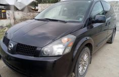 Nissan Quest 2005 Black