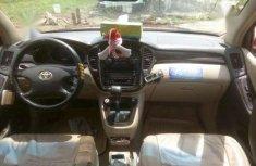 Registered 2001 Toyota Highlander