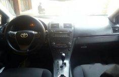 Toyota Avensis 2010 Black