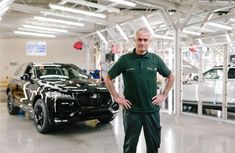 Manchester United Manager to make surprise visit to Jaguar Production Line