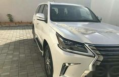 New Lexus LX570 2017 White