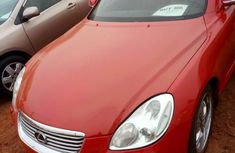 Fresh Lexus SC 430 2008 Red