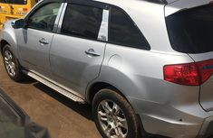 Clean Used Acura MDX 2008 Silver