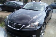 Clean Tokunbo Lexus IS250C