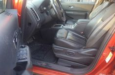 Clean Nigerian Used Ford Edge 2009 Orange
