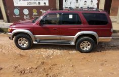 2001 Toyota 4-Runner Red for sale in Lagos