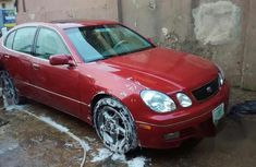Lexus GS 300 2000 Red