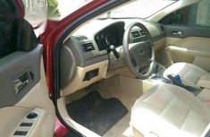 Ford Fusion 2008 Red