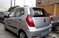 New Hyundai i10 2012 Silver