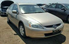 Clean and neat Honda  Accord 2004 Gold for sale