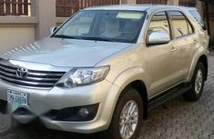 Toyota Fortuner 2014 Silver