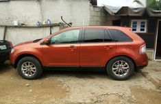 Ford Edge 2008 Orange For Sell
