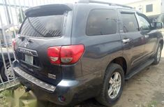 Clean Used Toyota Sequoia 2008 Gray