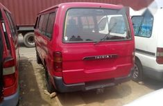 Toyota Hiace Bus 1996 Red for sale