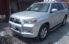 Toyota 4runner 2012 Silver for sale