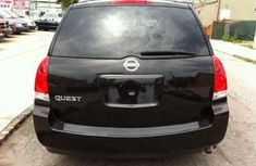 Neatly Nigerian used Nissan black color for sale