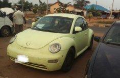 Volkswagen Beetle 2002 Yellow for sale