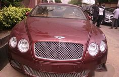 Bentley Continental 2011 Red for sale