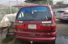 Ford Gallaxy Red 2003 for sale