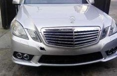 Very Clean Foreign Used Mercedez Benz E350, Silver