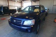 Toyota Highlander 2002 Blue for sale