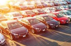 Slight improvement of the auto import but still 48% decrease in new vehicle sales