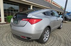 Clean 2010 acura zdx Silverfor sale