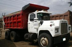 Mark truck 2012 White in good condition for sale