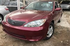 Very clean Toyota Camry 2005 Red for sale