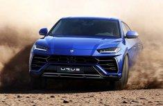 Lamborghini reveals its first super SUV - the Lamborghini Urus 2019