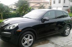 2014 Porsche Cayenne Platinum Edition from the Nigeria Custom Auction Service