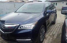 Clean tokunbo Accura mdx 2016 model Blue for sale