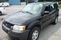 Clean tokunbo Ford escape xls 2003 model for sale