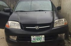 Clean Register Acura Mdx 2004 Black for sale