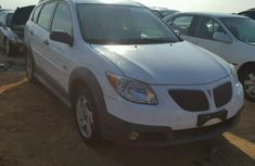 Clean Pontiac Vibe 2007 model white for sale
