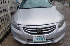 Clean Honda Accord 2012 Silver for sale