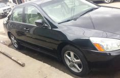 2003 Used Black Honda Accord Tokunbo for sale