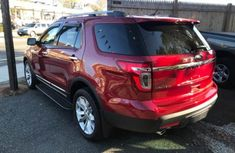 Tokunbo 2010 Ford Explorer Red For Sale Call Miss Ngozi On  08061192993