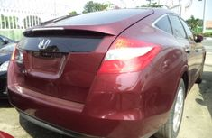 2009 Honda Accord Crosstour Tokunbo red for sale