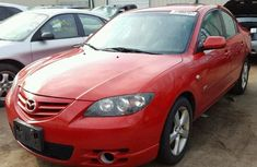 Mazda 3 2005 Red for sale