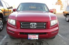 Honda ridgeline 2006 model Red for sale
