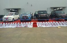 4 Innoson cars officially launched