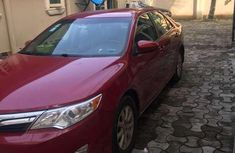 Toyota Camry 2013 Petrol Automatic Red for sale