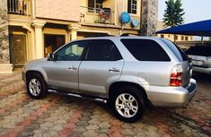 Clean 2004 acura MDX silver for sale