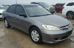 2005 Honda Civic Grey For Sale